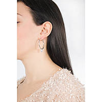 ear-rings woman jewellery Guess Hoops I Did It Again UBS84006
