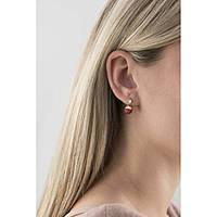 ear-rings woman jewellery Hip Hop Bon Bon HJ0235