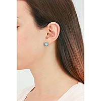ear-rings woman jewellery Hip Hop HJ0123
