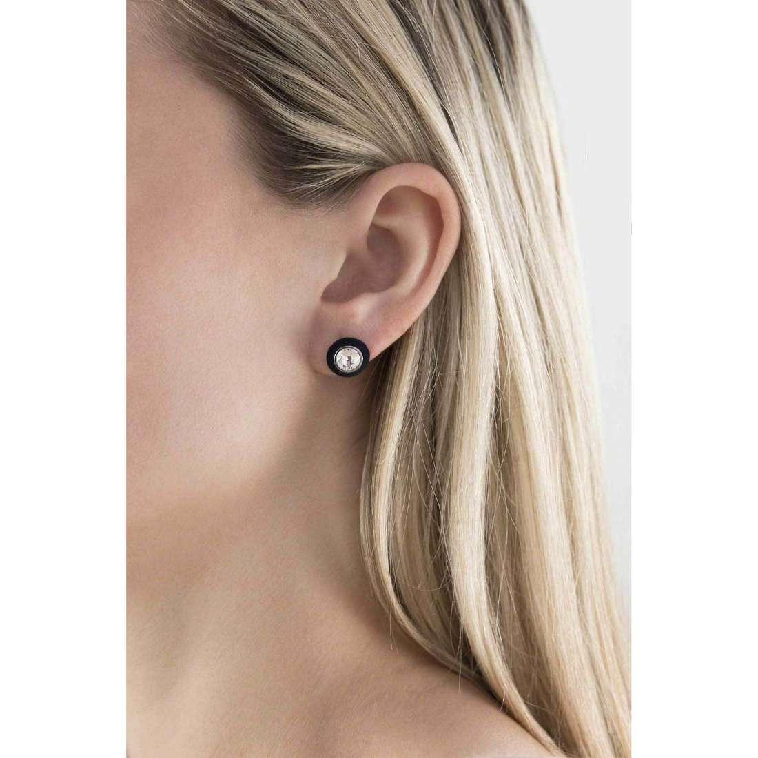 Hip Hop earrings Little Star woman HJ0038 indosso
