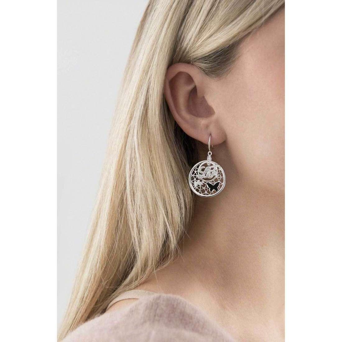 Liujo earrings Trama woman LJ815 indosso