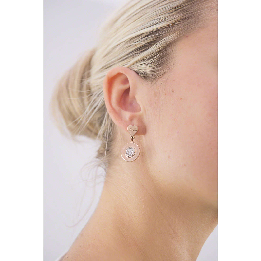 Liujo earrings Destini woman LJ980 indosso
