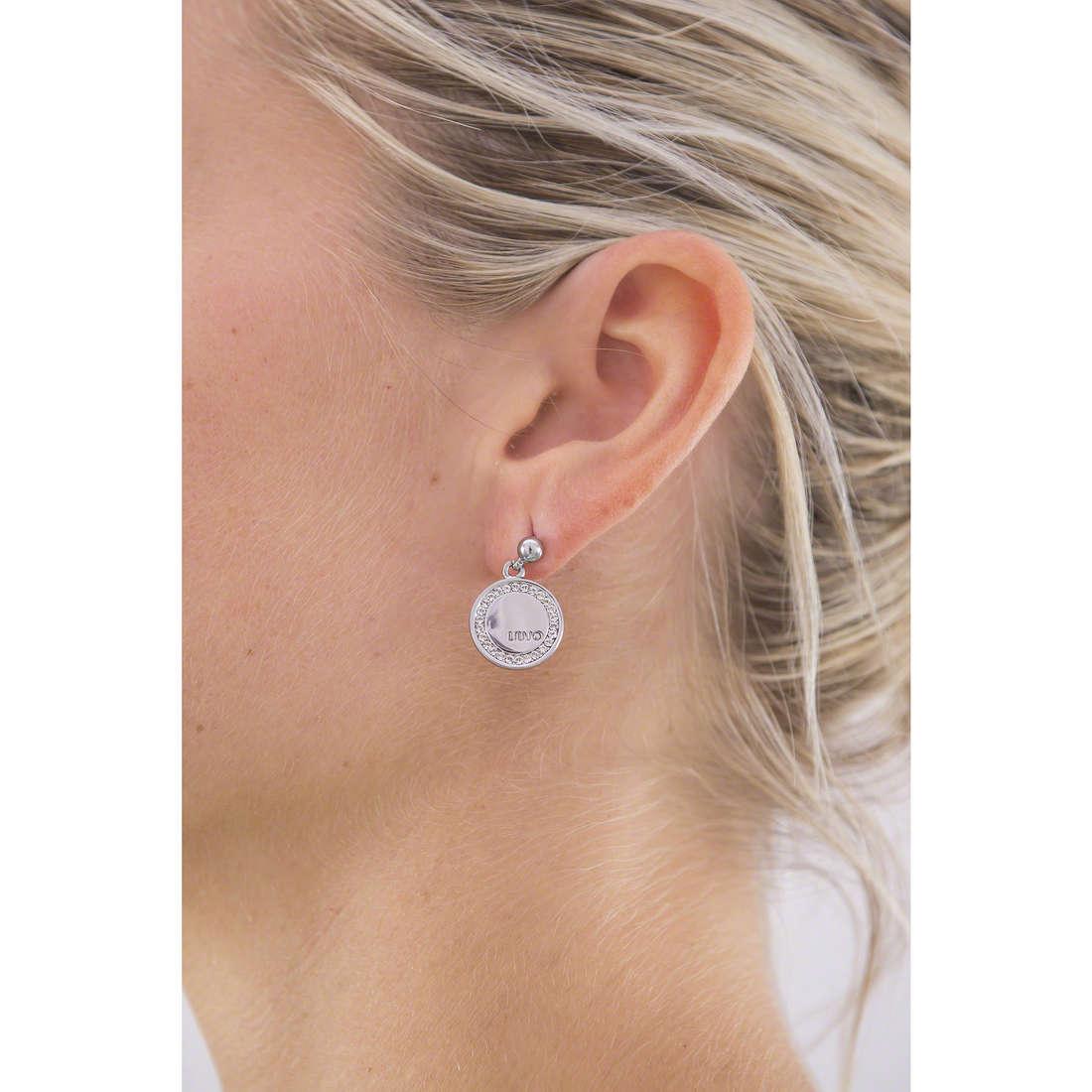 Liujo earrings Destini woman LJ985 indosso