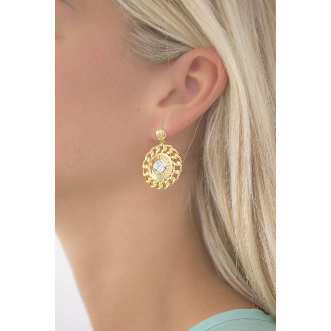 Liujo earrings Dolceamara woman LJ900 indosso