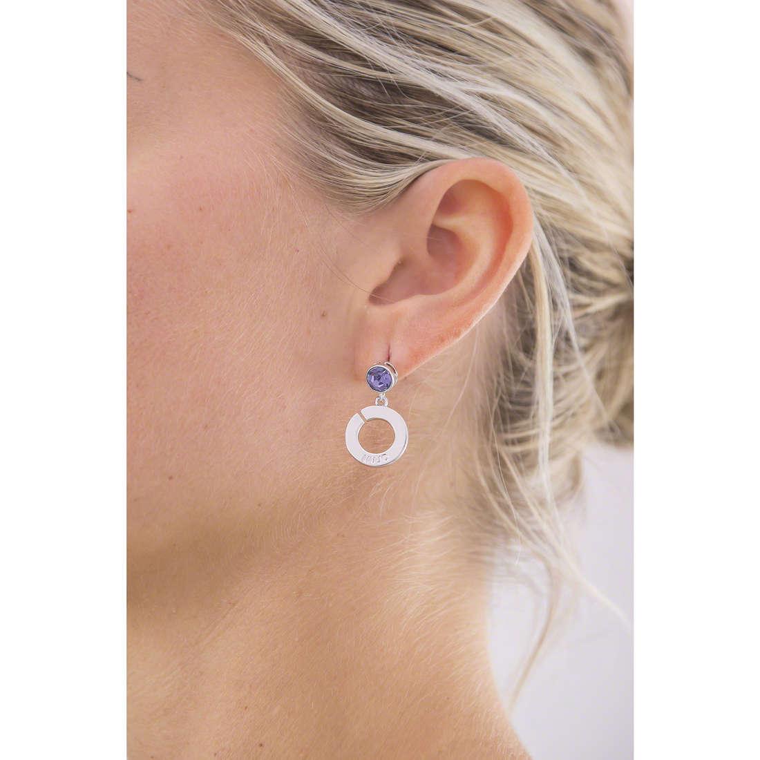 Liujo earrings Illumina woman LJ966 indosso