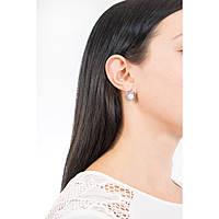 ear-rings woman jewellery Lotus Style Pearls LS1855-4/1