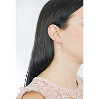 ear-rings woman jewellery Luca Barra Be Happy OK879