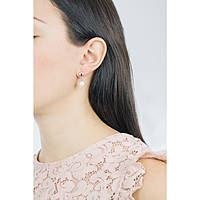ear-rings woman jewellery Luca Barra Be Happy OK881