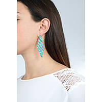 ear-rings woman jewellery Luca Barra LBOK585