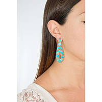 ear-rings woman jewellery Luca Barra LBOK588