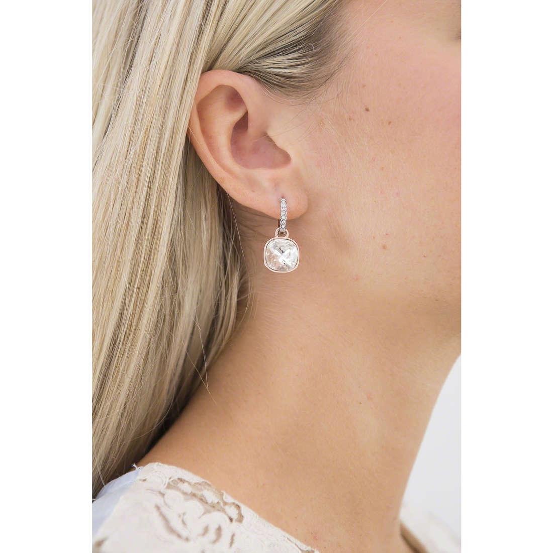 Luca Barra earrings Sheila woman LBOK740 indosso