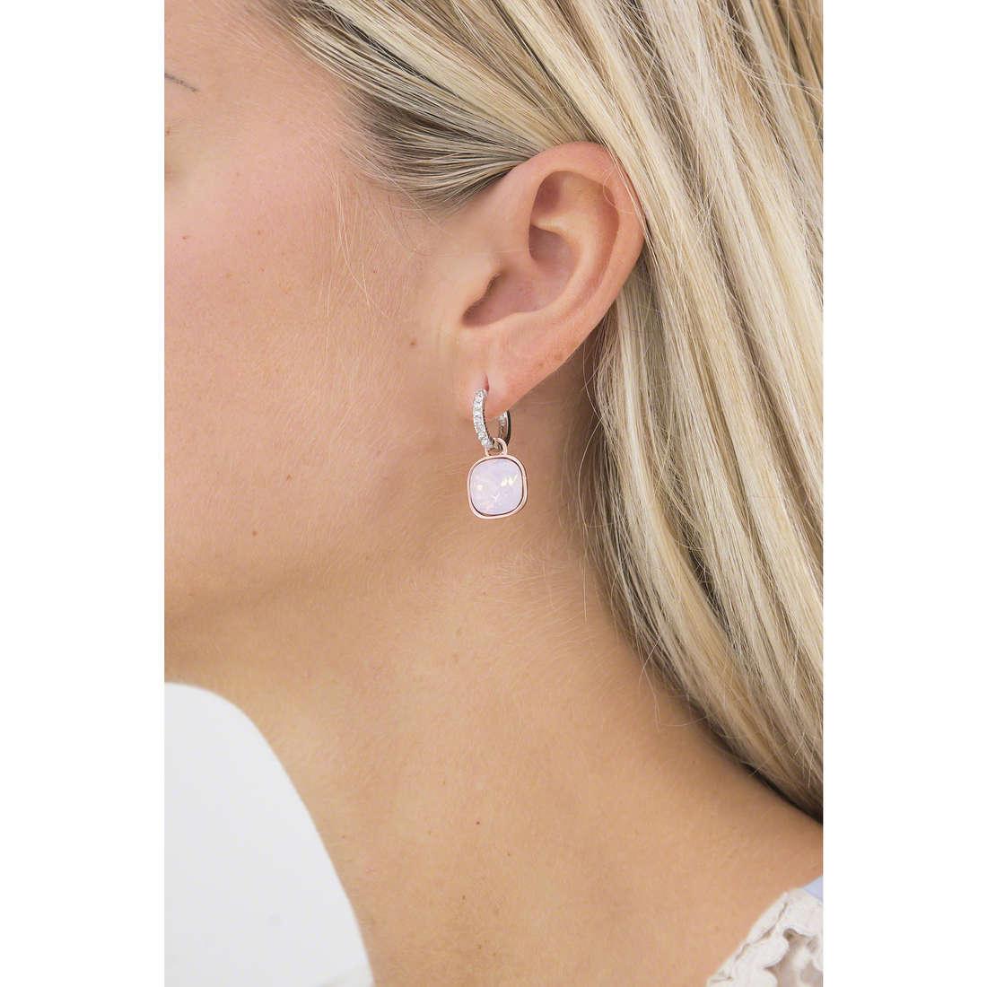 Luca Barra earrings Sheila woman LBOK743 indosso