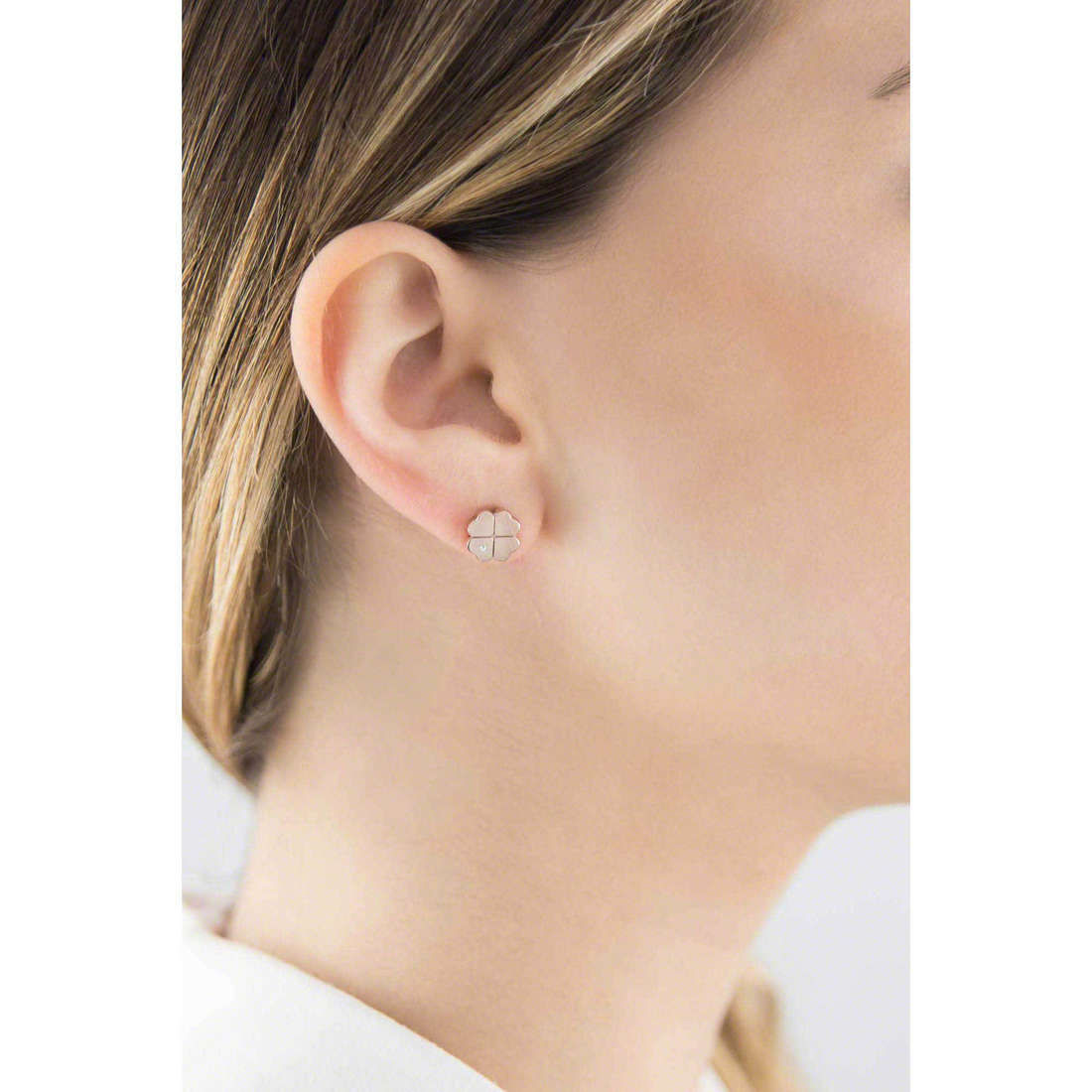 Marlù earrings Clover woman 18OR021R indosso