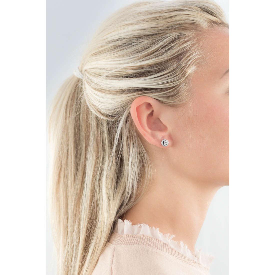 Marlù earrings Oui C'Est Moi woman 18OR022E indosso