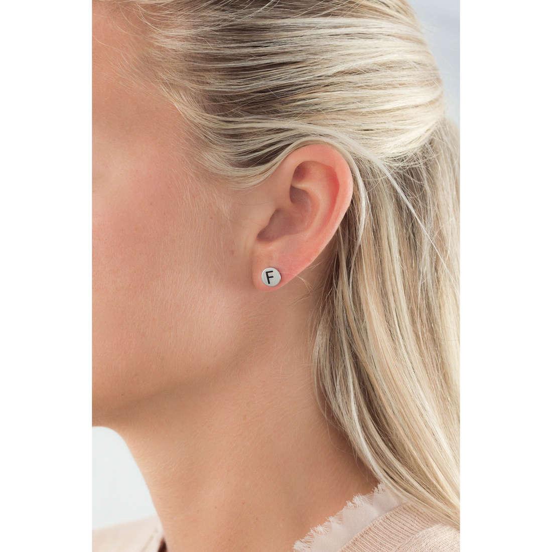 Marlù earrings Oui C'Est Moi woman 18OR022F indosso