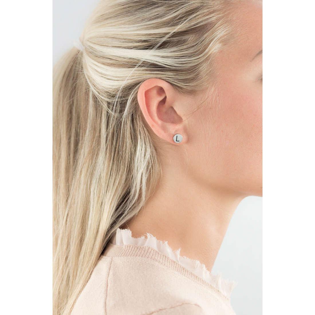 Marlù earrings Oui C'Est Moi woman 18OR022L indosso