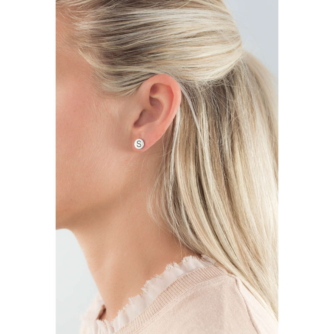 Marlù earrings Oui C'Est Moi woman 18OR022S indosso