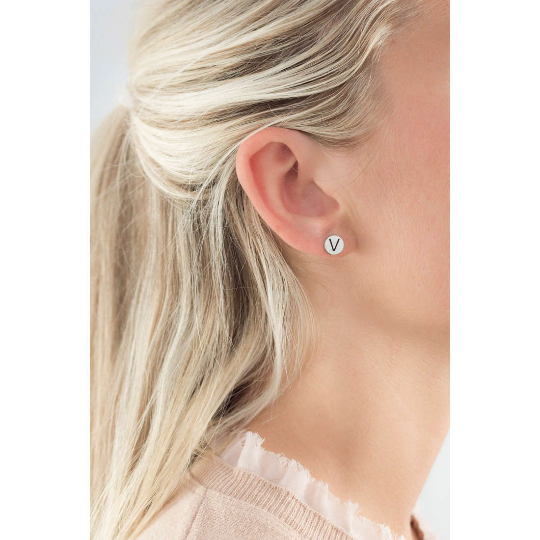 Marlù earrings Oui C'Est Moi woman 18OR022V indosso