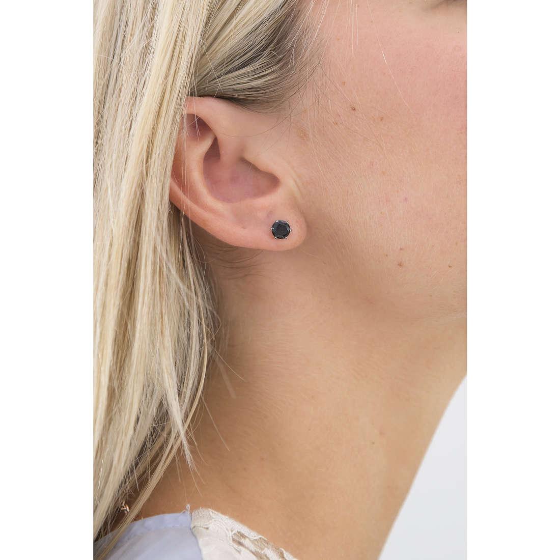 Marlù earrings Riflessi woman 5OR0041N-6 indosso