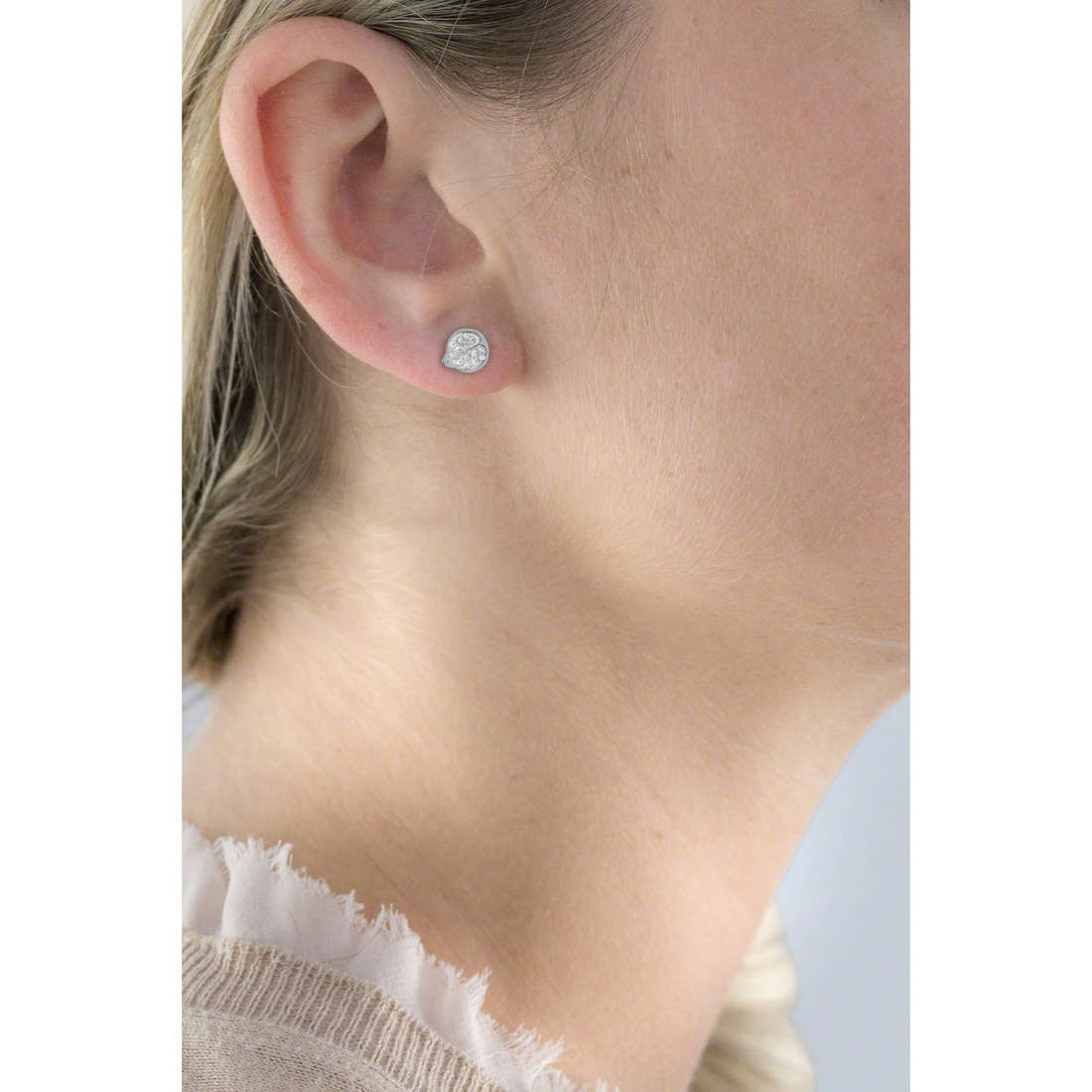 Marlù earrings Time To woman 18OR026 indosso