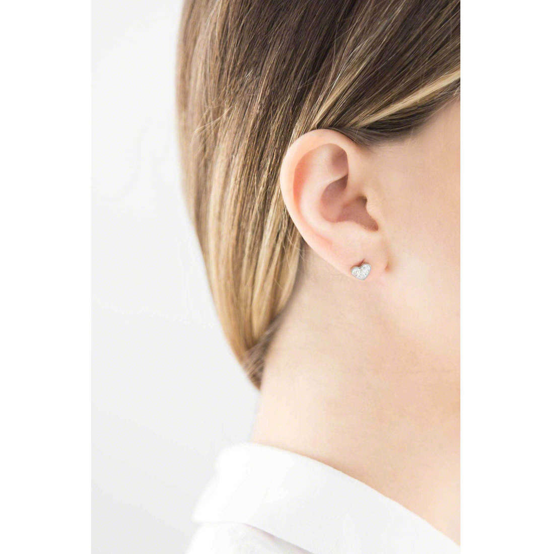 Marlù earrings Time To woman 18OR027 indosso