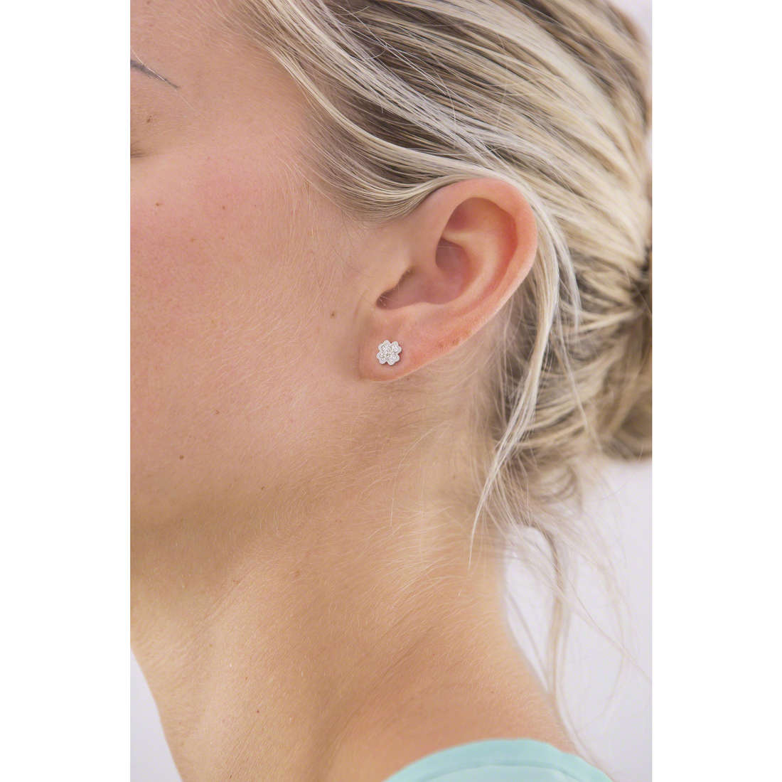 Marlù earrings Time To woman 18OR030 indosso