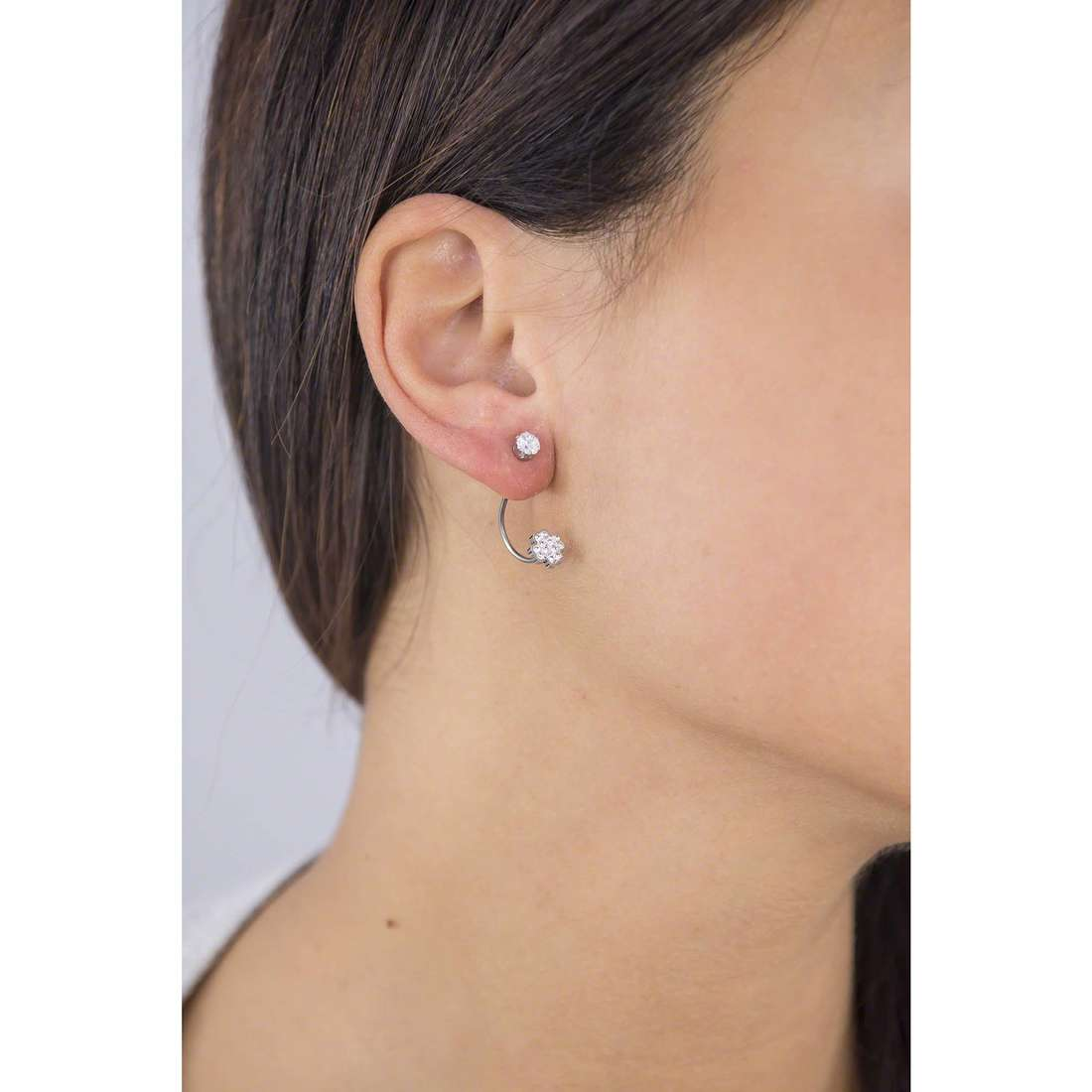 Marlù earrings Time To woman 18OR033 indosso