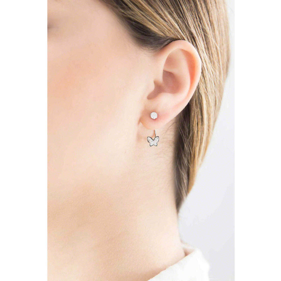 Marlù earrings Time To woman 18OR034 indosso