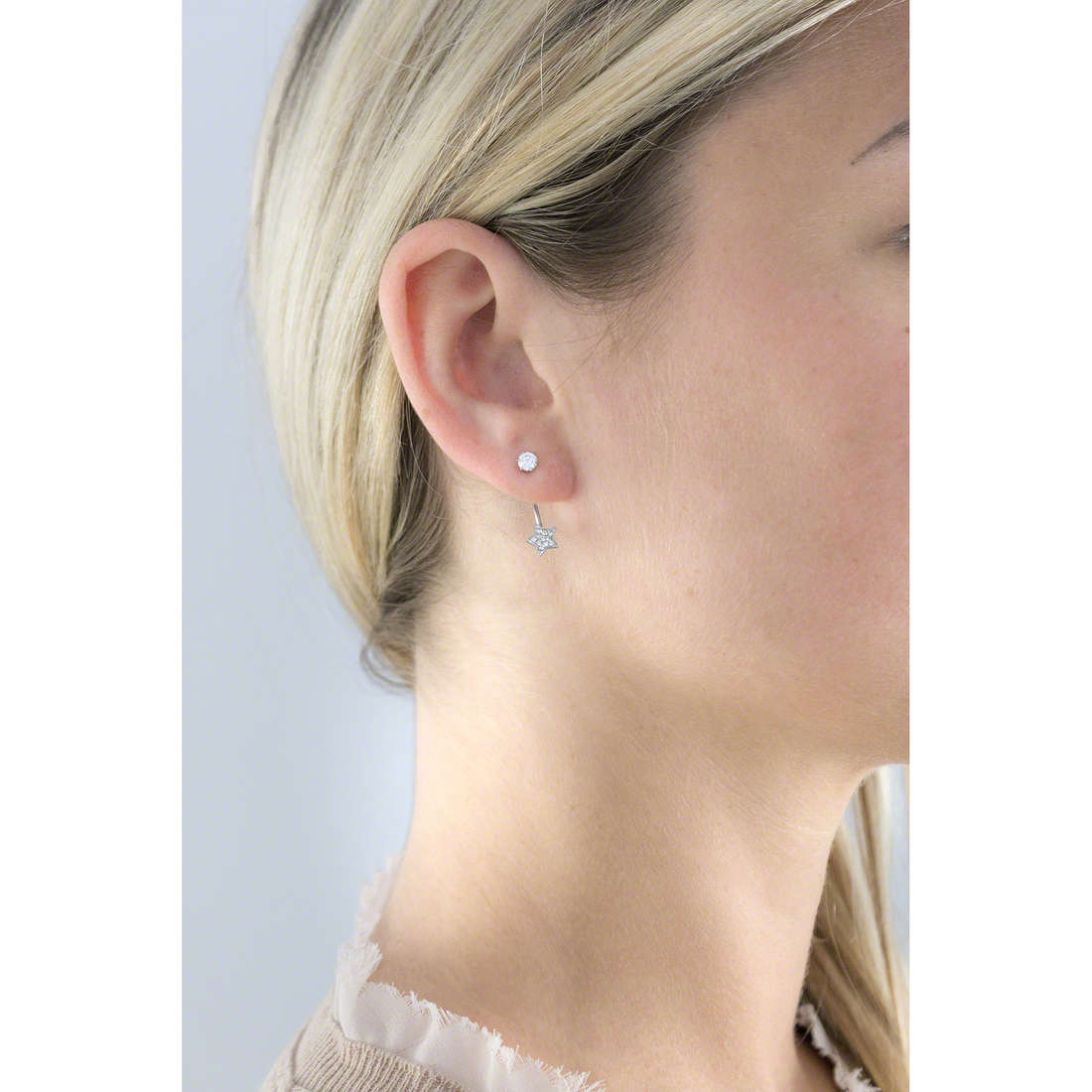 Marlù earrings Time To woman 18OR035 indosso
