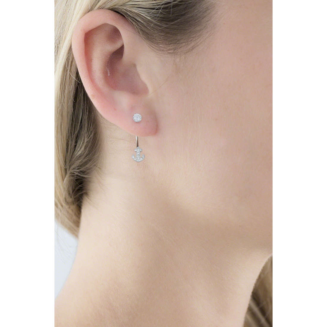 Marlù earrings Time To woman 18OR037 indosso