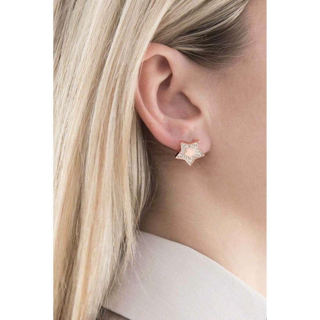 Morellato earrings Abbraccio woman SABG06 indosso