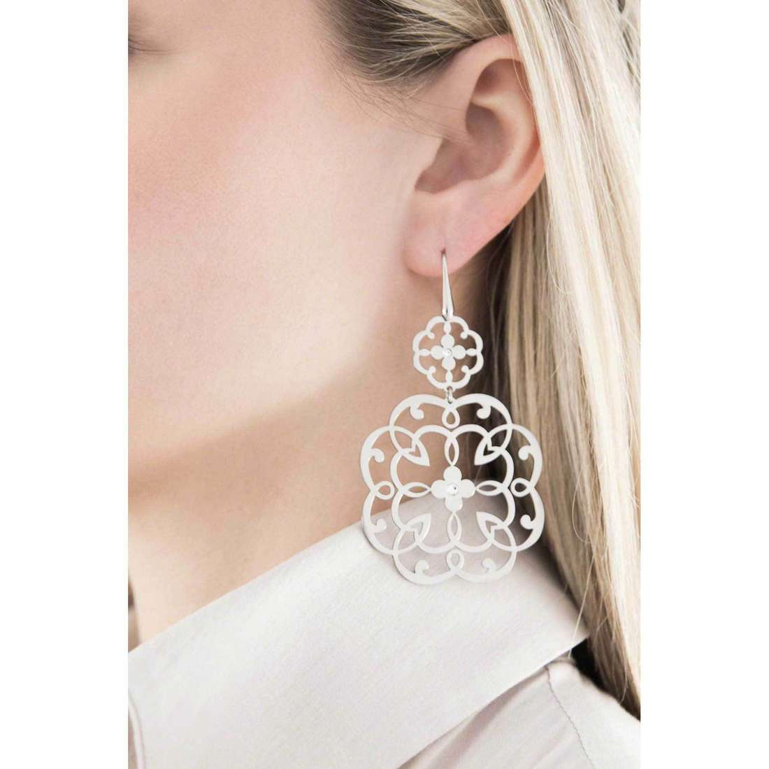 Morellato earrings Arabesco woman SAAJ11 indosso