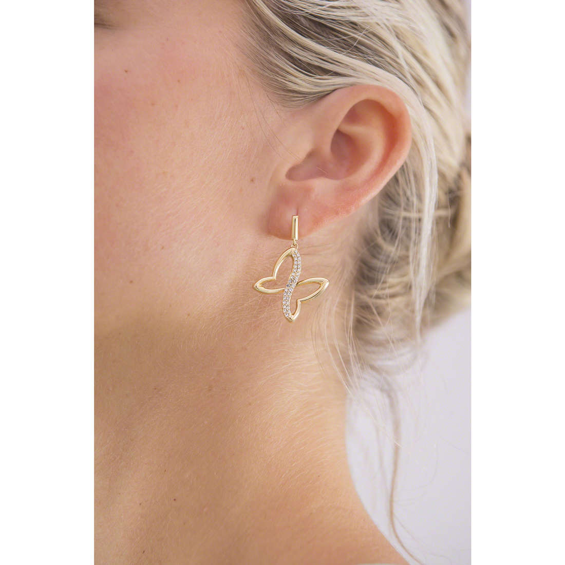 Morellato earrings Battito woman SAHO08 indosso