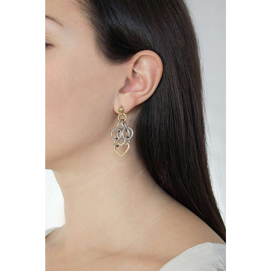Morellato earrings Essenza woman SAGX06 photo wearing