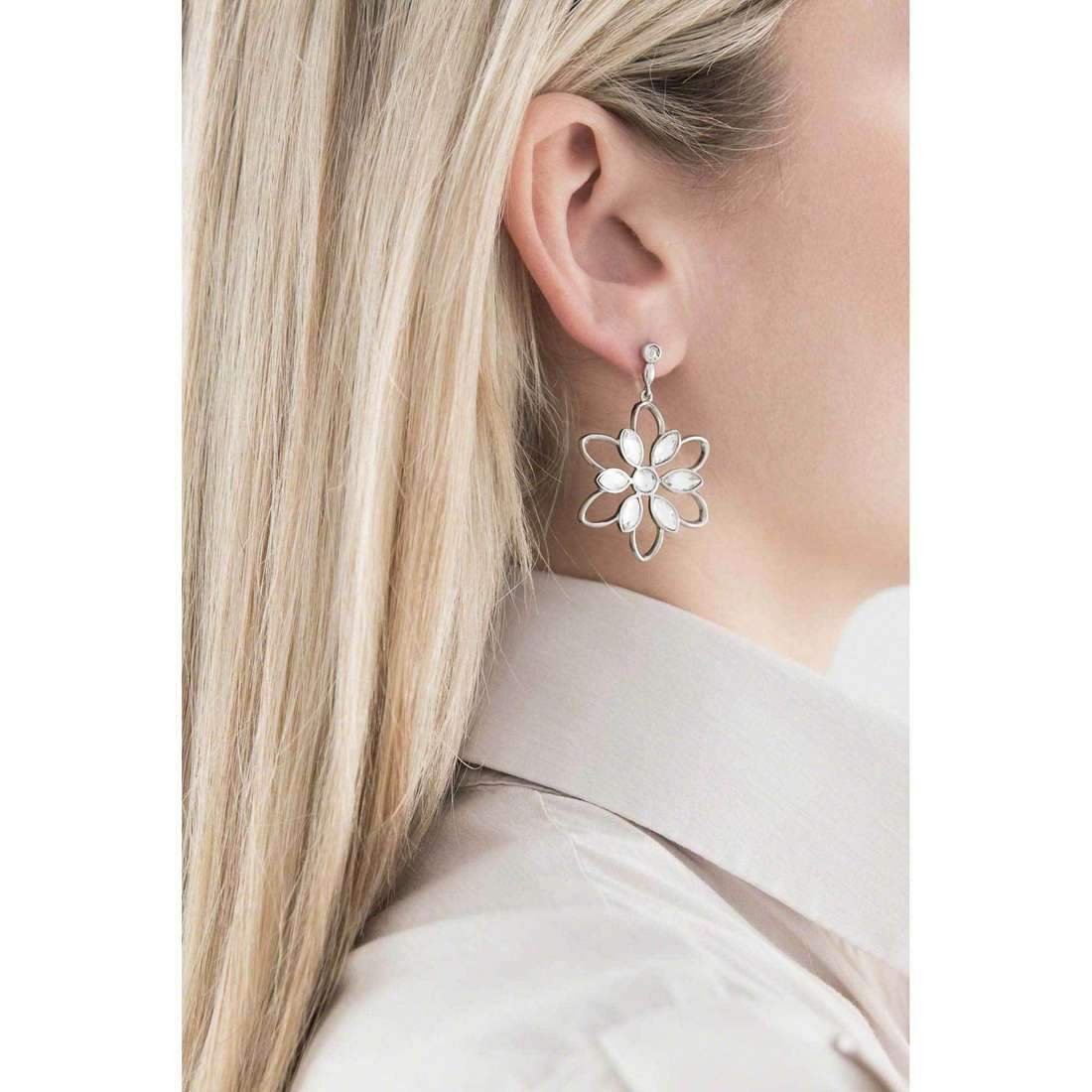 Morellato earrings Fioremio woman SABK20 indosso