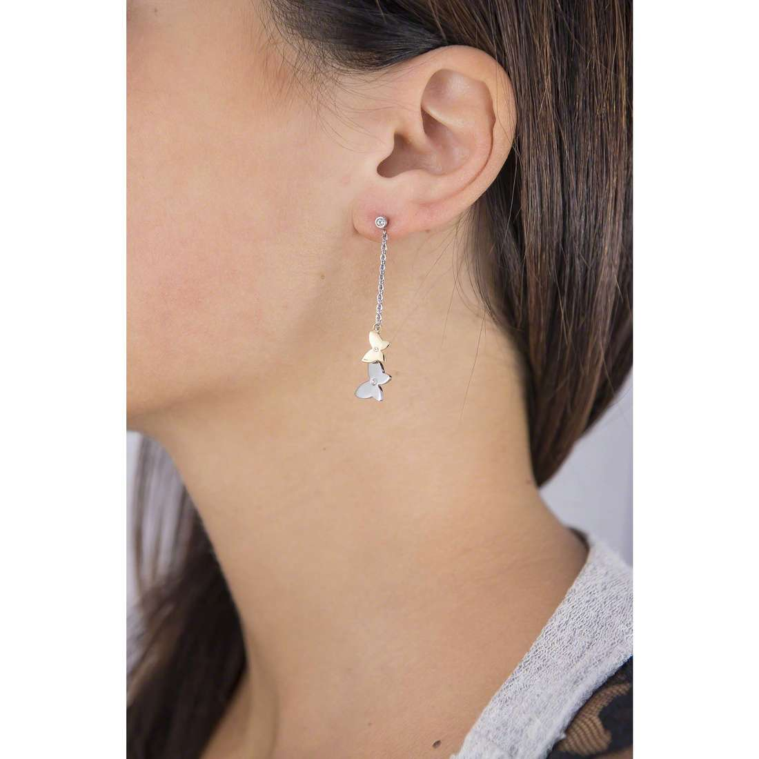 Morellato earrings Insieme woman SAHM06 indosso