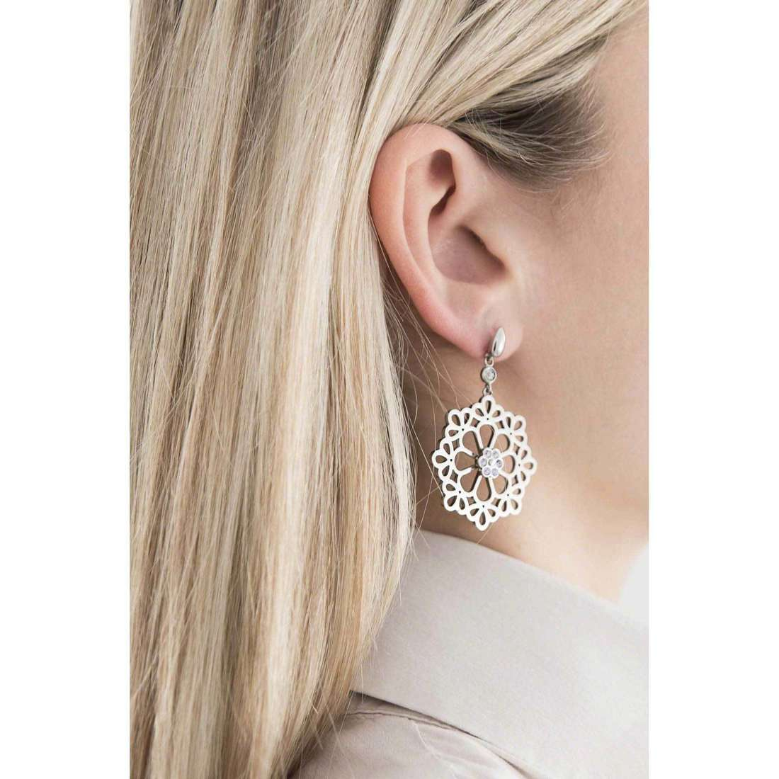 Morellato earrings Kaleido woman SADY08 indosso