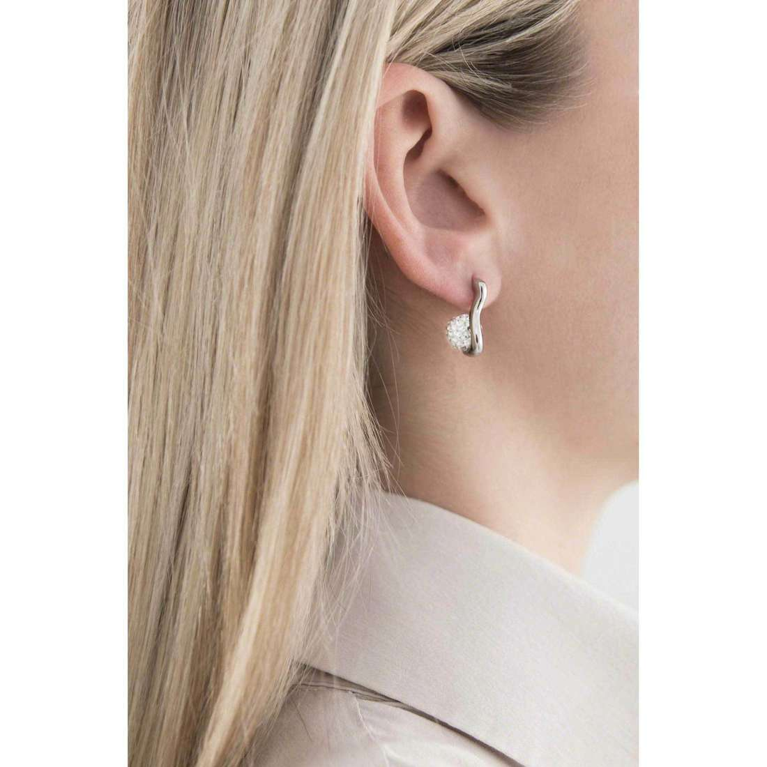 Morellato earrings Luminosa woman SAET05 indosso