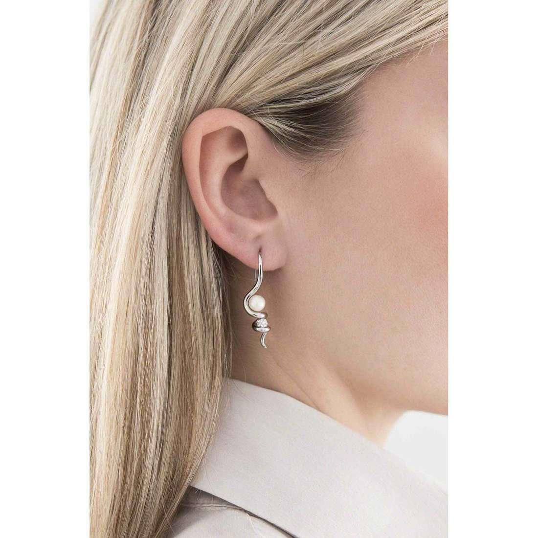 Morellato earrings Luminosa woman SAET12 indosso