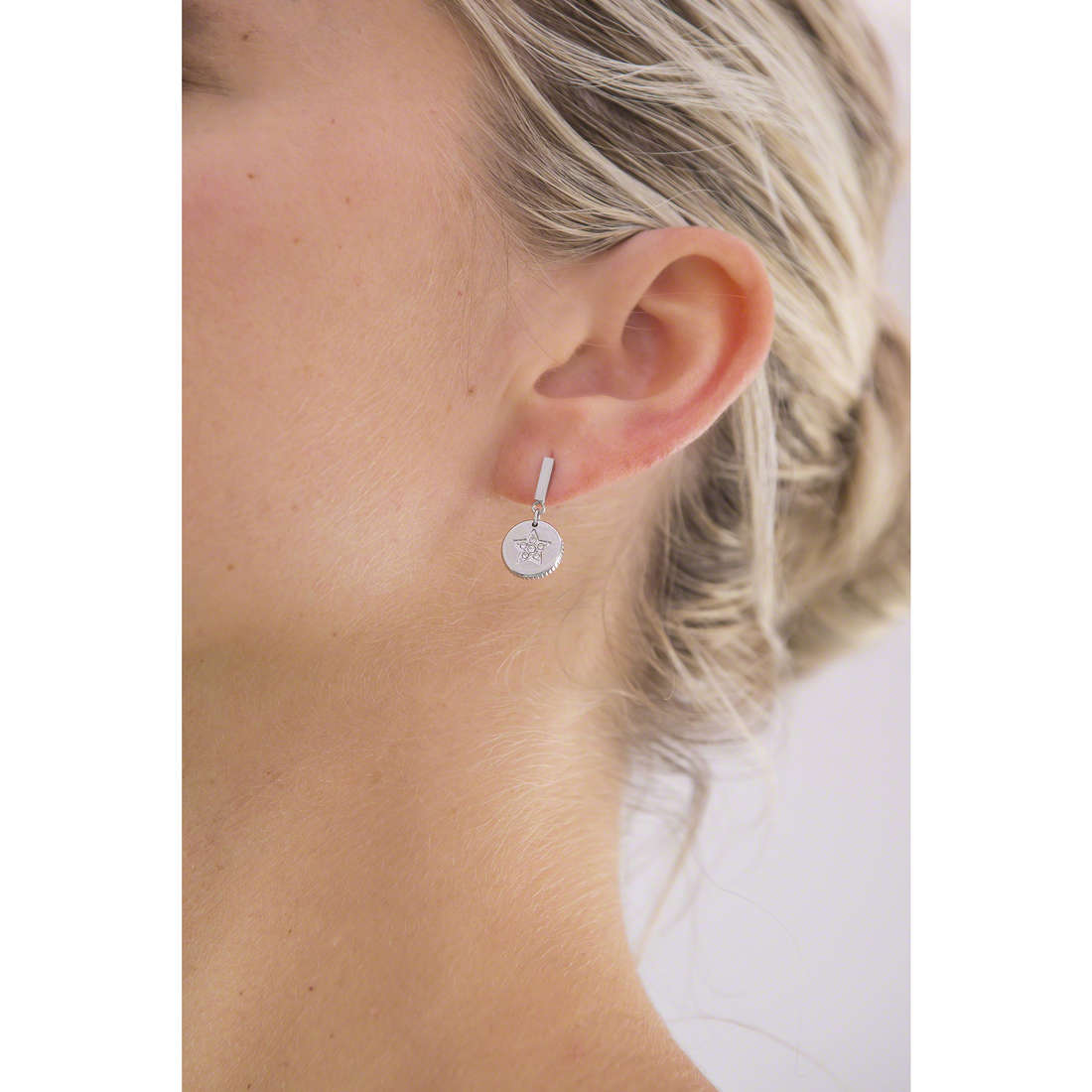Morellato earrings Monetine woman SAHQ05 indosso