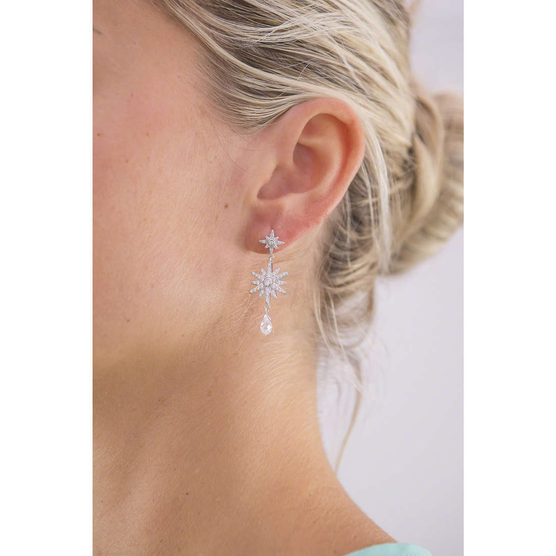 Morellato earrings Pura woman SAHR03 photo wearing