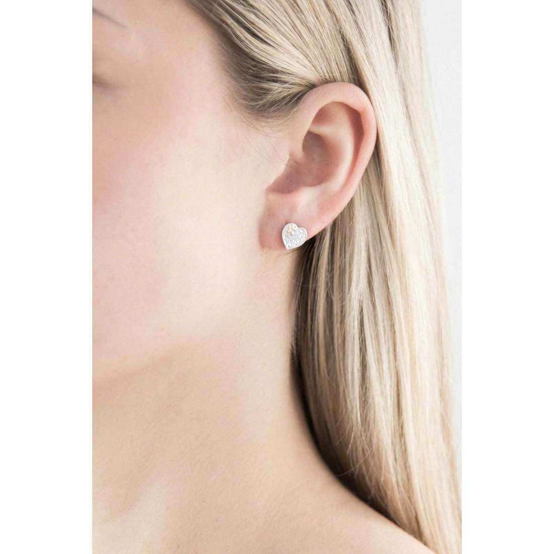 Nomination earrings Symphony woman 026250/001 indosso
