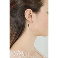 ear-rings woman jewellery Rebecca Boulevard Pearl BBPORR06