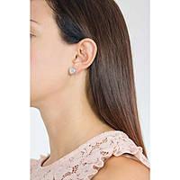 ear-rings woman jewellery Rebecca Boulevard Pearl BHOOBB51