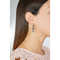 ear-rings woman jewellery Rebecca Boulevard Stone BHBONT06
