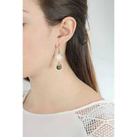 ear-rings woman jewellery Rebecca Boulevard Stone BHBOOS16