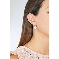 ear-rings woman jewellery Rebecca Myworldsilver SWROAA33
