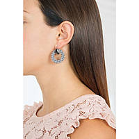 ear-rings woman jewellery Rebecca Zero BRZOXN04