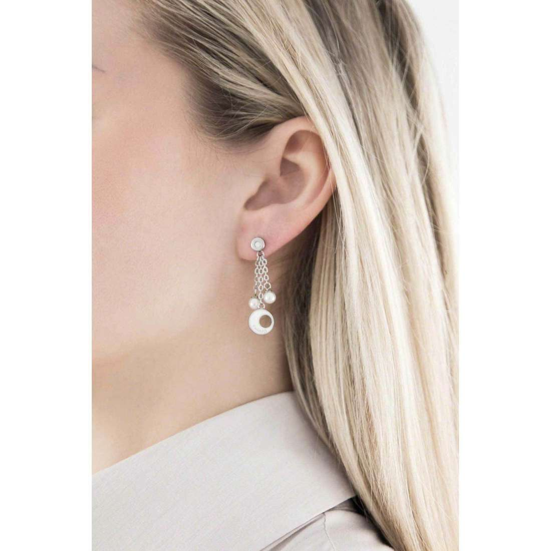 Sagapò earrings Eclipse woman SCL21 indosso