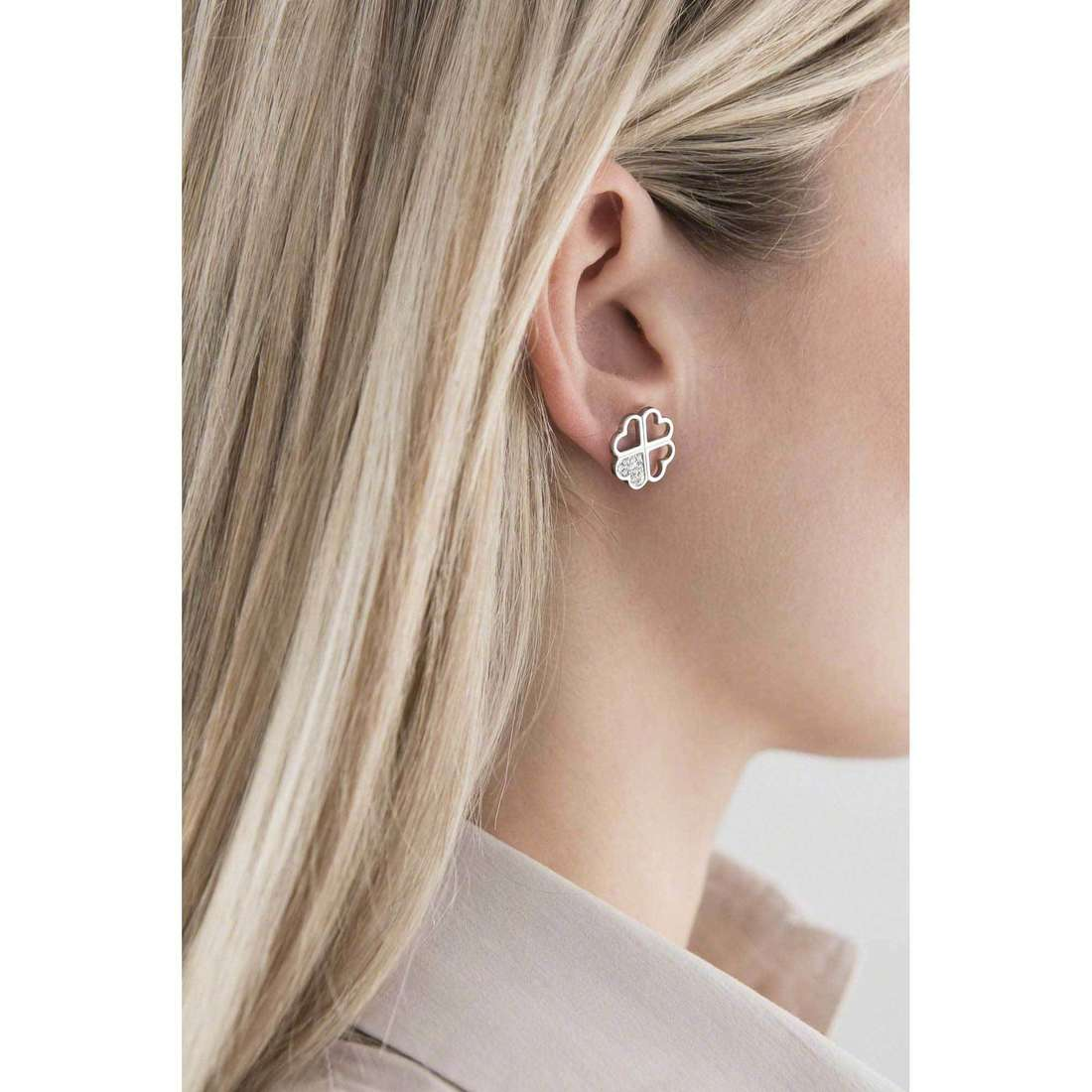 Sagapò earrings Fantasia woman SFS21 indosso